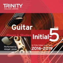 Guitar CD Initial-Grade 5 2016-2019, CD-Audio