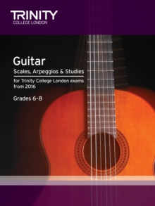 Guitar & Plectrum Guitar Scales & Exercises Grade 6-8 from 2016, Paperback