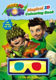 Tree Fu Tom: Magical 3D Colouring Book, Paperback
