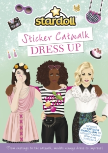 Stardoll Sticker Catwalk Dress Up, Paperback