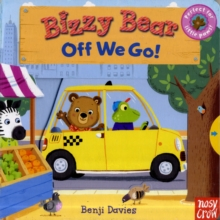 Bizzy Bear: Off We Go!, Board book