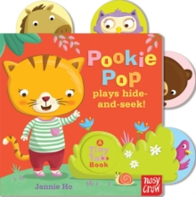 Tiny Tabs: Pookie Pop Plays Hide and Seek, Board book Book