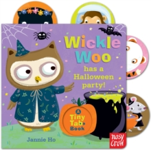 Tiny Tabs: Wickle Woo Has a Halloween Party, Board book Book