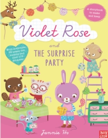 Violet Rose and the Surprise Party Sticker Activity Book, Paperback Book