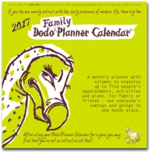 Dodo Family Planner Calendar 2017 - Month to View with 5 Daily Columns : A Calendar to Organise Up to 5 People's Activities. For Family or Friends; See Everyone's Comings and Goings in One Handy Place, Calendar