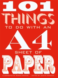 101 Things to Do with an A4 Sheet of Paper, Paperback