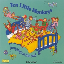 Ten Little Monkeys Jumping on the Bed, Board book