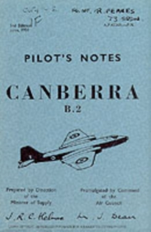 English Electric Canberra B2, Paperback Book