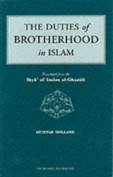 The Duties of Brotherhood in Islam, Paperback