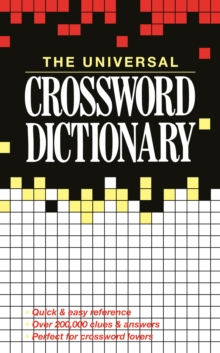 The Universal Crossword Dictionary, Paperback