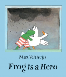 Frog is a Hero, Paperback Book
