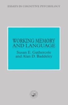 Working Memory and Language, Paperback