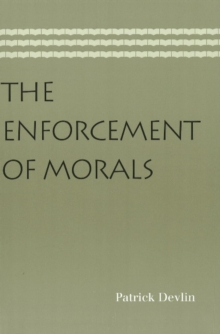 Enforcement of Morals, Paperback