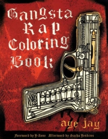 Gangsta Rap Coloring Book, Paperback