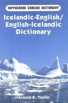 Icelandic-English, English-Icelandic Dictionary, Paperback