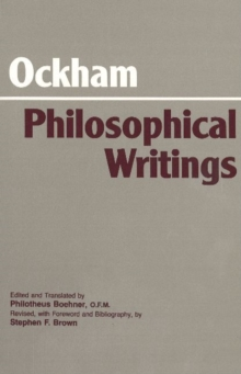 Philosophical Writings : A Selection, Paperback