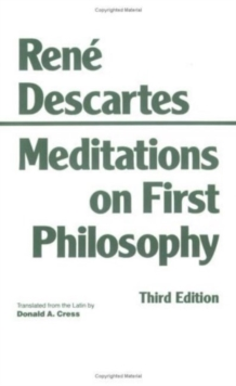 Meditations on First Philosophy, Paperback
