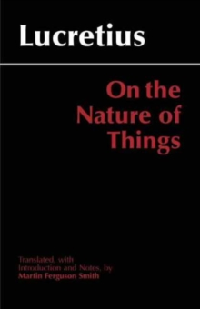 On the Nature of Things, Paperback