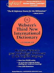 Webster's Third New International Dictionary, Hardback