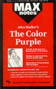 """Color Purple"", Paperback Book"
