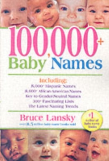 100, 000+ Baby Names, Paperback