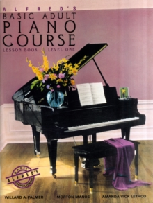 Alfred's Basic Adult Piano Course : Lesson Book Level 1, Paperback