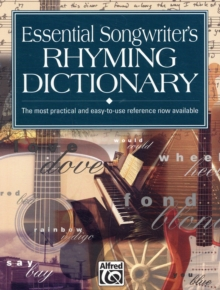 ESSENTIAL SONGWRITERS RHYMING DICTIONARY, Paperback