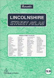 Lincolnshire Street Atlas, Sheet map, folded Book