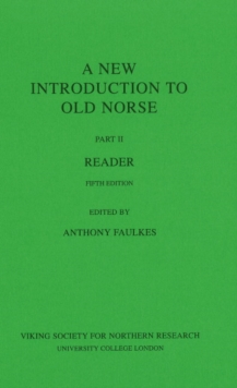A New Introduction to Old Norse : Reader II, Paperback