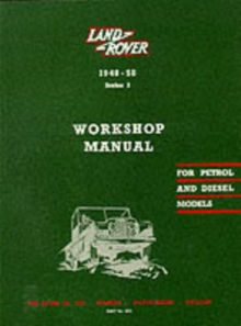 Land Rover Series I Workshop Manual, Paperback