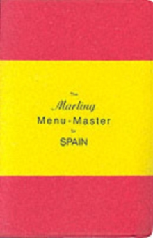 The Marling Menu-Master for Spain, Paperback