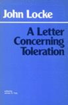 Letter Concerning Toleration, Paperback Book
