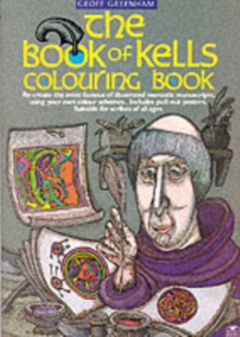 Book of Kells Colouring Book, Paperback