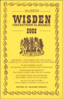 Wisden Cricketers' Almanack 2002, Hardback Book