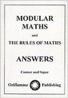 Modular Maths : Answers, Paperback