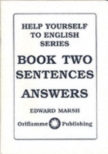 Sentences : Answers, Paperback