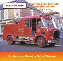 British Fire Engines of the 1950's and 1960's, Paperback