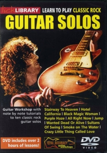 Lick Library: Learn to Play Classic Rock Guitar Solos, DVD