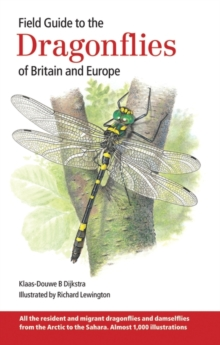 Field Guide to the Dragonflies of Britain and Europe, Hardback