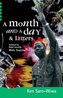 A Month and a Day : & Letters, Paperback