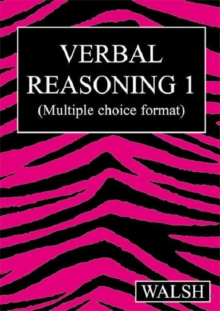 Verbal Reasoning : Papers 1-4 Multiple Choice Version bk. 1, Paperback Book