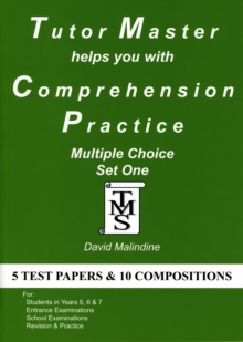Tutor Master Helps You with Comprehension Practice : Multiple Choice Set One, Paperback Book