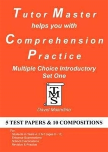 Tutor Master Helps You with Comprehension Practice - Multiple Choice Introductory Set One, Paperback