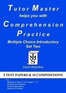 Tutor Master Helps You with Comprehension Practice - Multiple Choice Introductory Set Two, Paperback