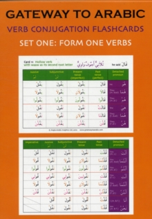 Gateway to Arabic Verb Conjugation Flashcards : Set One: Form One Verbs, Cards Book
