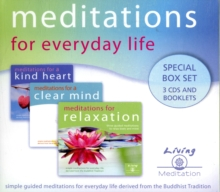Meditations for Everyday Life Box Set : Meditations for a Kind Heart, Clear Mind, and Relaxation, CD-Audio
