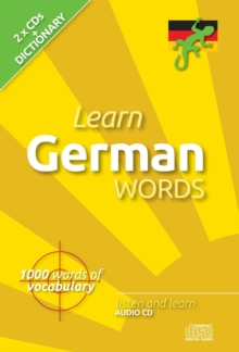 Learn German Words, CD-Audio Book