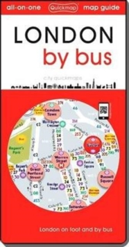 London by Bus: London on Foot and by Bus, Sheet map, folded