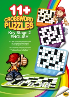 SKIPS 11+ Crossword Puzzles, Paperback Book