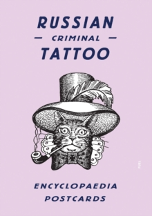 Russian Criminal Tattoo Encyclopaedia Postcards, Postcard book or pack